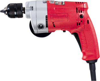 MILWAUKEE 3/8 inch MAGNUM DRILL WITH KEYLESS CHUCK
