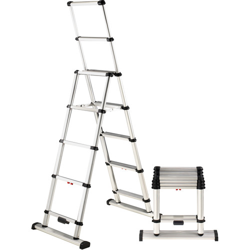 TELESCOPIC COMBINATION LADDER