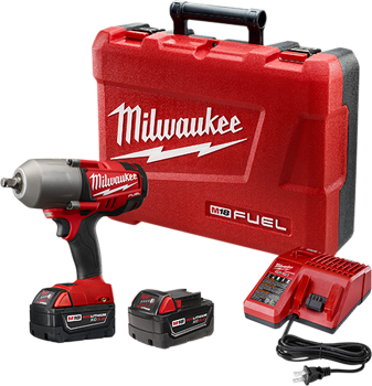 MILWAUKEE M18 FUEL™ 1/2 inch HIGH TORQUE IMPACT WRENCH WITH FRICTION RING KIT