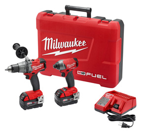 MILWAUKEE M18 FUEL 2-TOOL COMBO KIT