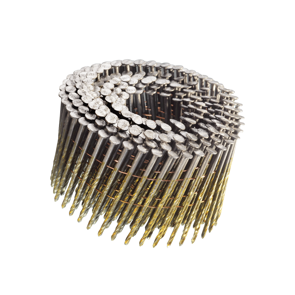 3 inch 15° WIRE COIL NAILS