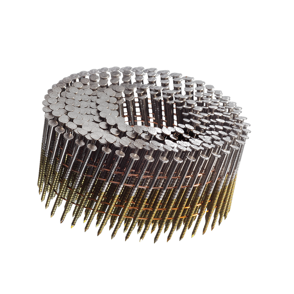 1-1/2 inch 15° WIRE WELD MINI COIL NAILS