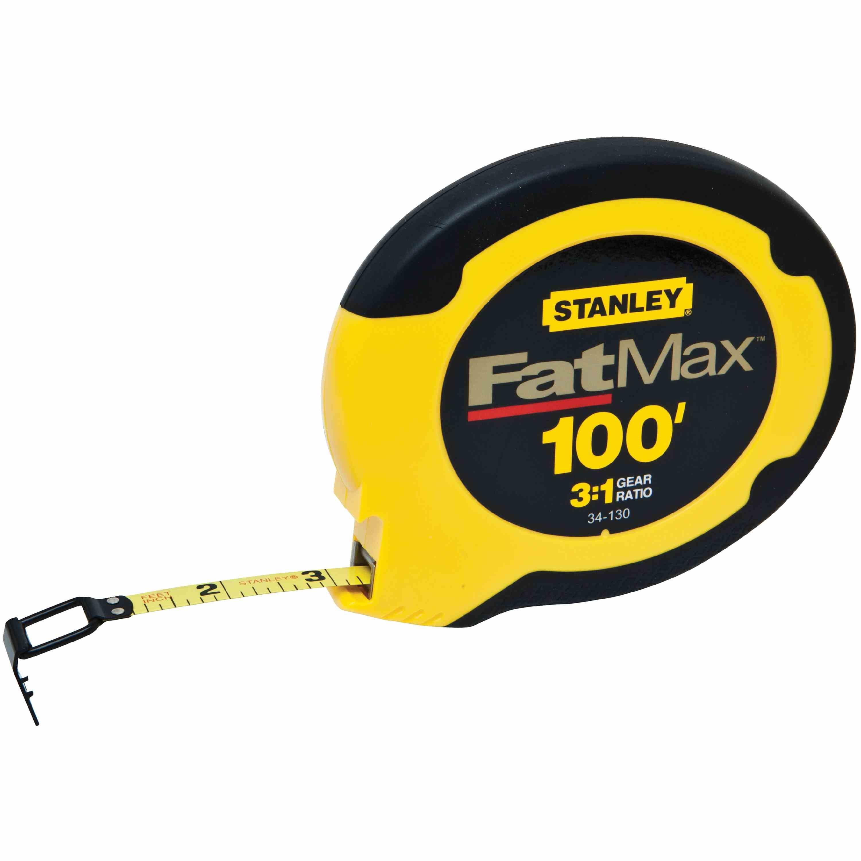 STANLEY 100FT FATMAX® STEEL LONG TAPE