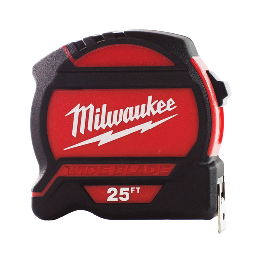 MILWAUKEE 25FT WIDE BLADE TAPE MEASURE