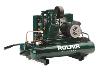 ROLAIR 1.5 HP WHEELED TWIN TANK AIR COMPRESSOR