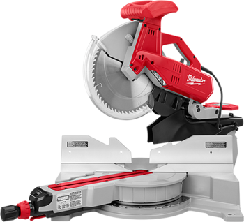 MILWAUKEE 12 inch DUAL-BEVEL SLIDING COMPOUND MITER SAW WITH STAND