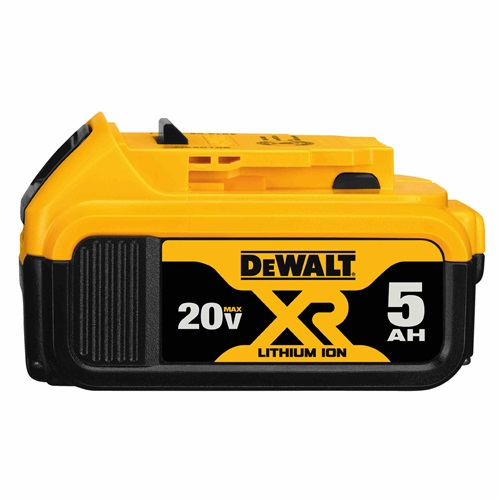 DEWALT 20V MAX* PREMIUM XR® 5.0AH LITHIUM ION BATTERY PACK