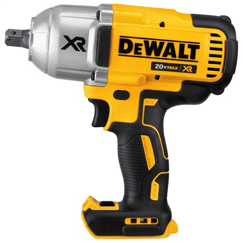 DEWALT 20V MAX* XR® HIGH TORQUE 1/2 inch IMPACT WRENCH W. DETENT PIN ANVIL (BARE TOOL)