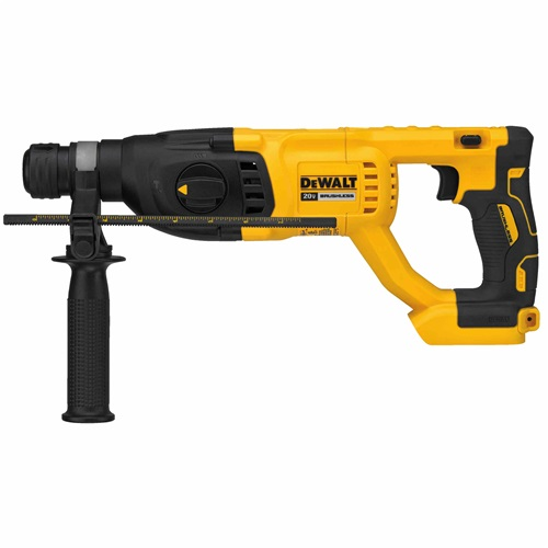 "DEWALT 20V MAX* XR® BRUSHLESS 1"" D-HANDLE ROTARY HAMMER (BARE TOOL)"
