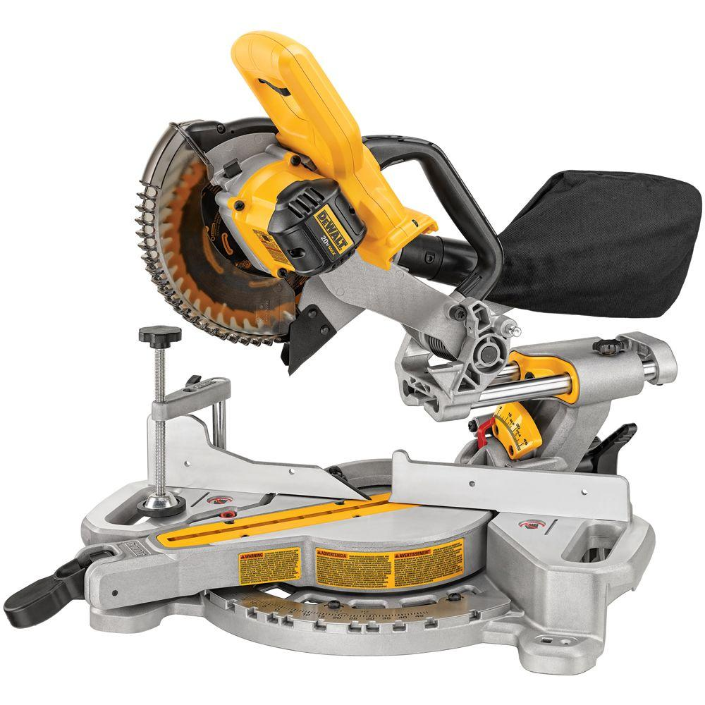 "20V MAX 7-1/4"" Sliding Miter Saw (Bare)"