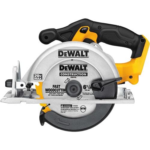 DEWALT 20V MAX* 6-1/2 inch CIRCULAR SAW (BARE TOOL)