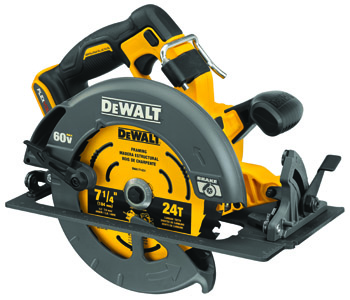 DEWALT FLEXVOLT® 60V MAX* BRUSHLESS 7-1/4 IN. CORDLESS CIRCULAR SAW WITH BRAKE (BARE TOOL)