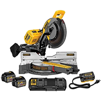FLEXVOLT 12 inch 120V* MAX DOUBLE BEVEL COMPOUND SLIDING MITER SAW KIT