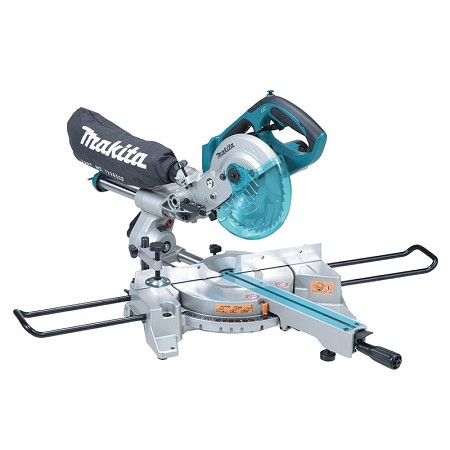 "7-1/2"" Cordless Dual Sliding Compound Mitre Saw with Brushless Motor"