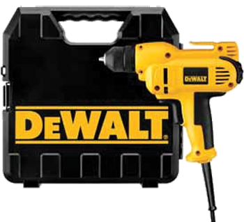 DEWALT 3/8 inch VSR MID-HANDLE DRILL KIT WITH KEYLESS CHUCK