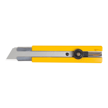RUBBER INSET GRIP RATCHET-LOCK UTILITY KNIFE