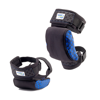 STEEL FLEX STRAPPED KNEE PAD