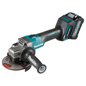 MAKITA XGT® 40V MAX LI-ION BRUSHLESS 5 inch ANGLE GRINDER KIT WITH SLIDE SWITCH