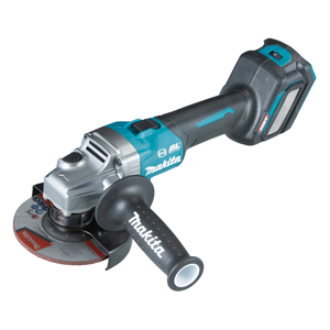MAKITA XGT® 40V MAX LI-ION BRUSHLESS AWS 5 inch VARIABLE SPEED ANGLE GRINDER WITH SLIDE SWITCH (BARE TOOL)