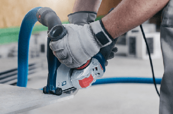 BOSCH X-LOCK 5 inch VARIABLE SPEED GRINDER